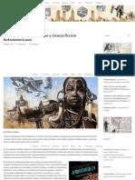 Notas sobre afrofuturismo y ciencia ficción latinoamericana - Sonámbula
