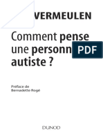 Comment Pense Une Personne Autiste by Vermeulen, Peter