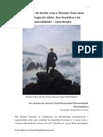 As Práticas de Sentir com o Mundo - Para uma Antropologia do Afeto, dos Sentidos e da Materialidade – Introdução