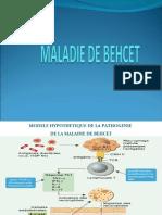 MALADIE BEHCET (IMAGES)