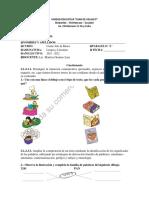 PRUEBA DE DIAGNOSTICO DE LENGUA Y LITERATURA
