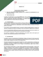 INCIDENCIA DE LA GERENCIA DE MANTENIMIENTO EN LAS ACTIVIDADES DE SU AREA