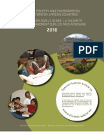 Gender, Poverty and Environmental Indicators on African Countries 2010