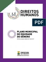 Plano Municipal de Equidade de Gênero - Dez 2019 (PBH)