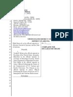 Arizona complaint on Biden vaccine regulations