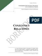 MATEMATICAS DISCRETAS ( CONJUNTOS Y RELACIONES)