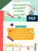 Reforzamiento de Matemática, 10 de junio