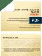 LECTURA E INTERPRETACION DE PLANOS