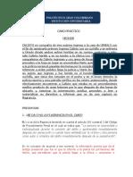 SOLUCION FLAGRANCIA PENAL GENERAL