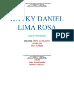 KAYKY DANIEL LIMA ROSA