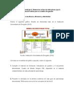 REFLEXIONAR ACERCA DE LOS CONCEPTOS DE LAS TRES E