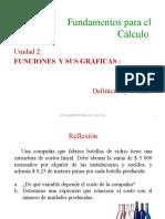 4.3 Funciones. Definición y dominio (2)