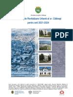 Programul de Revitalizare Urbană a orașului Călărași pentru anii 2021-2024