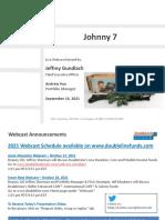 9-14-2021 DoubleLine Total Return Webcast With Jeffrey Gundlach - Slide Deck