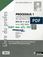 Processus 1 - BTS CG 1re Et 2e Années- Édition 2017__Livre Du Professeur