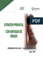 Atencion Prenatal Con Enfoque en Alto Riesgo