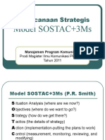 Perencanaan Strategis Model SOSTAC