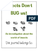 Insects Don't Bug Us Journal