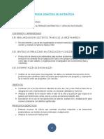 SEC. DID. DE MATEMÁTICA DEL 19 AL 30