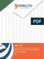 Conhecimentosde Informáticapara Escriturário Agente Comercialdo Bancodo Brasil(Pós Edital) Aula 12