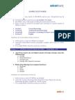 Sample Test Paper MTO