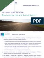 Informe Confidencial - 6 de Abril - BACKUS