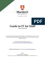 IT Staff training