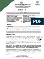 GUIA ARTISTICA   N. 4 GRADO 6tos 2021