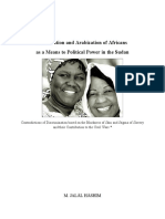 Islamization and Arabization of Africans as a Means to Political Power in the Sudan - M. Jalal Hashim