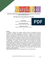 Junges, Pereira & Castan (2020). Grupo de treinamento de habilidades sociais em um centro de atenção psicossocial