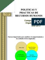 POLITICAS Y PRACTICAS DE RECURSOS HUMANOS