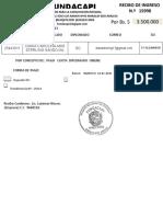 RECIBO 15998 DIANA CAROLINA ASIS STERLING SANDOVAL   PAGO  CUOTA   DIPLOMADO  ONLINE  19-01-2021 (1)