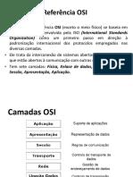 Modelo OSI e TCPIP - Redes de Computadores