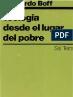 18965914-Leonardo-Boff-Teologia-Desde-El-Lugar-Del-Pobre
