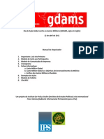 GDAMS Org Packet - Portugese