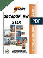 Manual secador KW 215