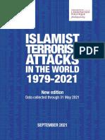 Islamist Terrorist Attacks in the World (1979-2021)