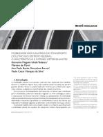 Mobilidade dos usuários do transporte coletivo no Distrito Federal - caracteríticas e fatores determinantes
