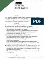 04 partie 2 - 20 fiches pour la mise en place - 14 Maîtrise du management qualité