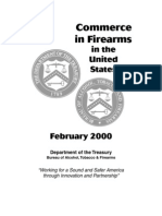 Commerce in Firearms 2000