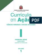 Curriculo Em Ação - Pprofessor - 1ª Médio
