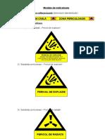 Tipuri indicatoare protectie civila