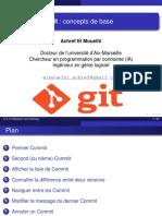 Cours Git Basic Concept