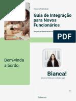 GUIA DE INTEGRAÇÃO PARA NOVOS FUNCIONÁRIOS