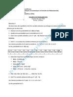 2018 Examen et solution Probabilité Mai 2018.pdf · version 1-4