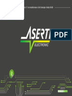 Plaquette ASERTI Electronic Gar 2 ans