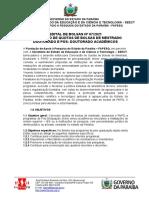 Edital 07-2021 Bolsas Fapesq