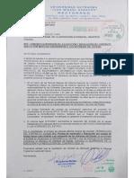 Carta resolución del Contrato de Computadoras de la UAJMS-Tarija