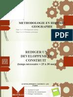 Methodologie Hist Geo
