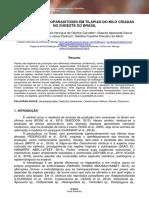 AVALIAÇÃO DE HEMOPARASITOSES EM TILÁPIAS-DO-NILO CRIADAS